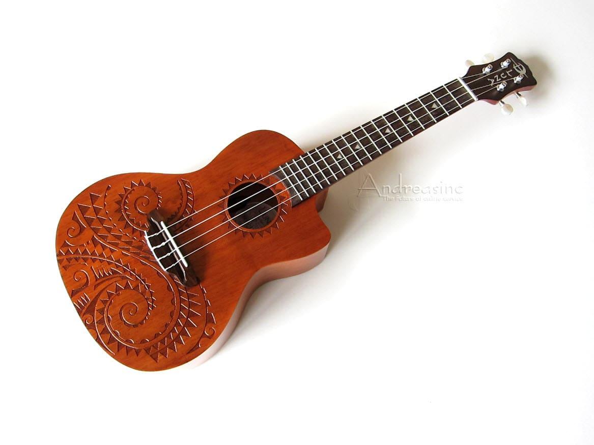 concert acoustic electric ukulele w bag reverb. Black Bedroom Furniture Sets. Home Design Ideas