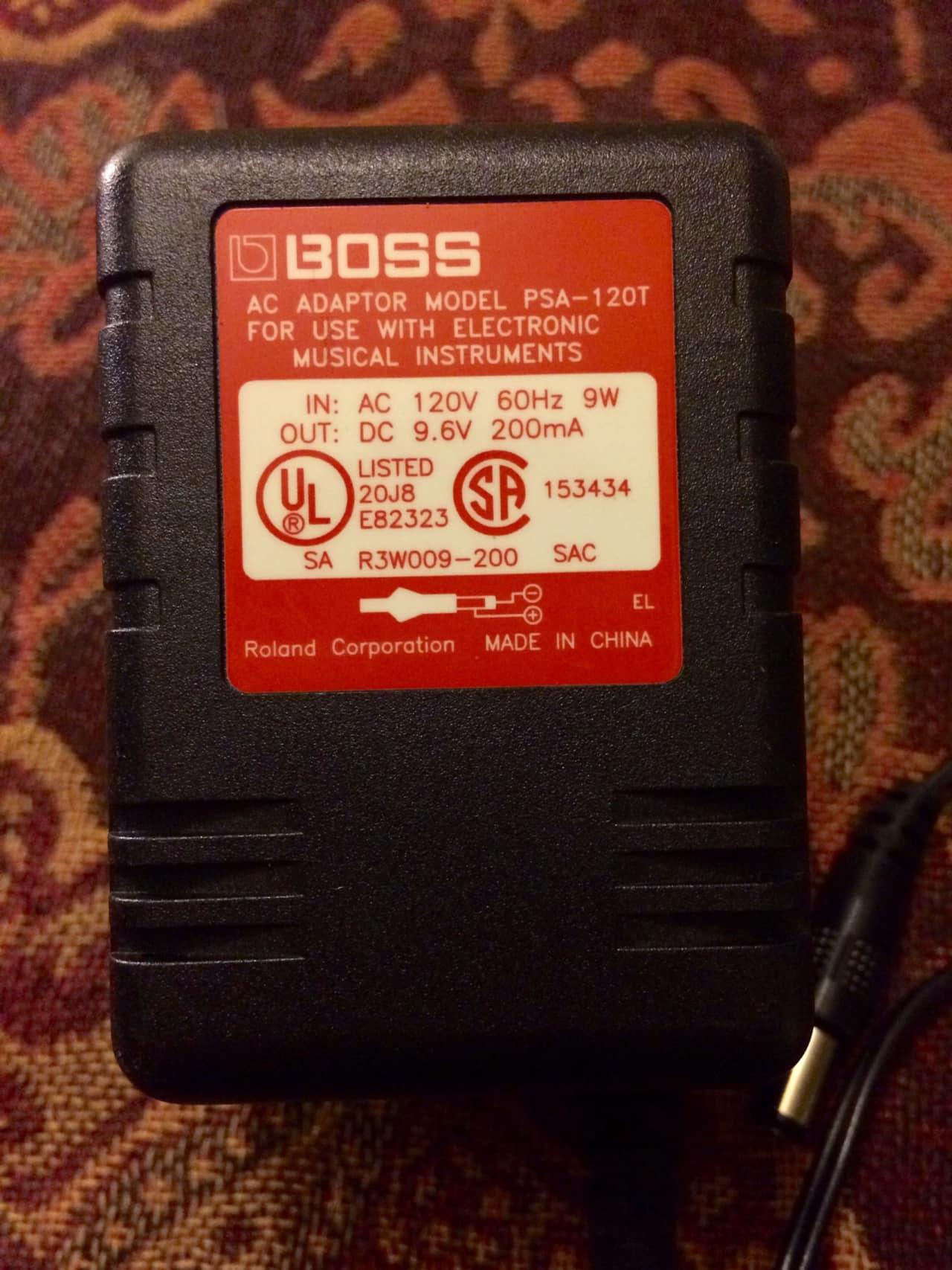 boss psa120 psa 120t pedal adapter power supply reverb. Black Bedroom Furniture Sets. Home Design Ideas