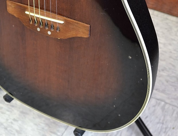Ovation CS257 Celebrity Deluxe Acoustic Electric Guitar ...