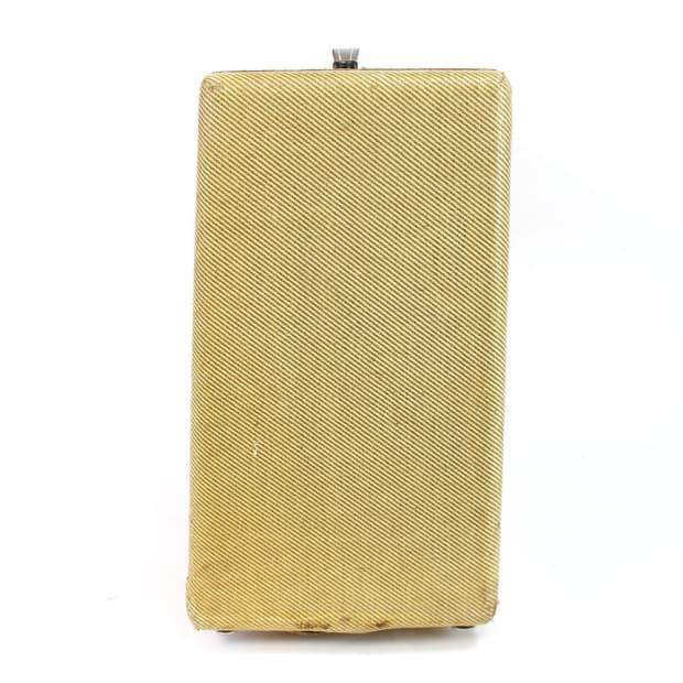 Vintage 1956 Narrow Panel Fender Super 2x10 Tube Combo Amp