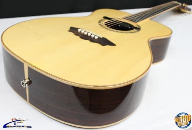 washburn f42s folk acoustic electric guitar w hsc teisco reverb. Black Bedroom Furniture Sets. Home Design Ideas