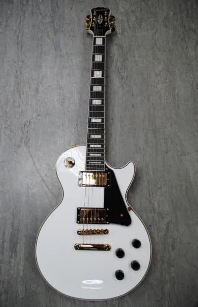epiphone les paul custom pro alpine white reverb. Black Bedroom Furniture Sets. Home Design Ideas