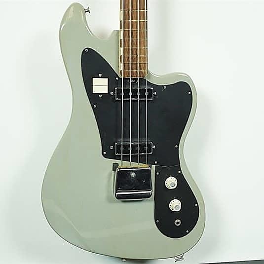 Used Teisco Eb 200 Bass Guitar Green Reverb