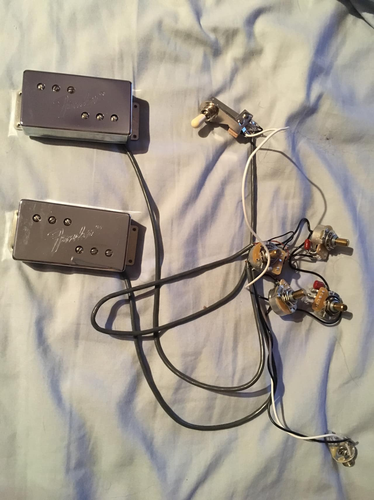 fender telecaster deluxe wiring harness wide range reverb
