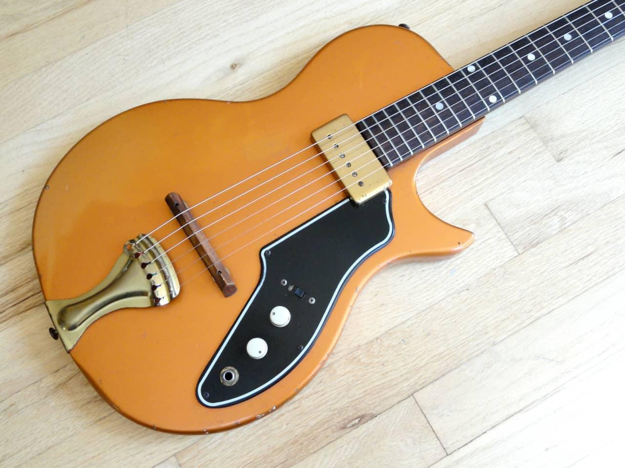 1960 supro tosca 3 4 size vintage electric guitar 100 stock reverb. Black Bedroom Furniture Sets. Home Design Ideas