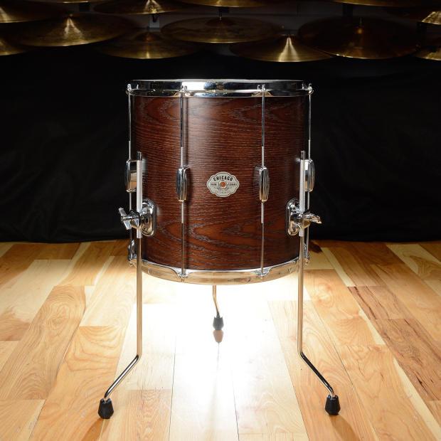 C c signature chicago drum exchange player date maple oak for 14x14 floor tom