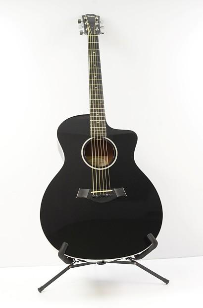 2014 taylor 214ce deluxe acoustic electric guitar black w reverb. Black Bedroom Furniture Sets. Home Design Ideas