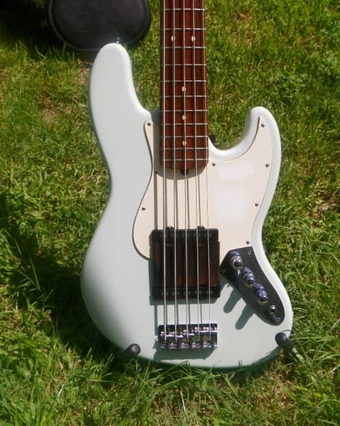 fender american standard jazz bass v active pickups reverb. Black Bedroom Furniture Sets. Home Design Ideas