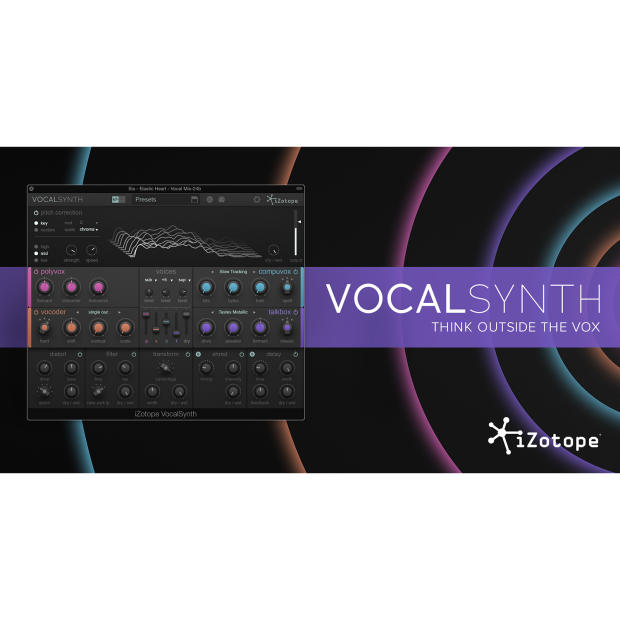 izotope vocalsynth vocal effects plugin reverb. Black Bedroom Furniture Sets. Home Design Ideas