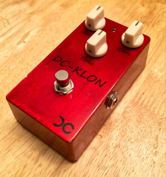 dc pedals klon klone centaur clone 2014 candy apple red reverb. Black Bedroom Furniture Sets. Home Design Ideas