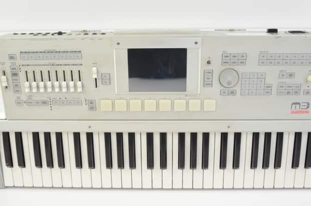 korg m3 61 key keyboard synthesizer workstation sampler reverb. Black Bedroom Furniture Sets. Home Design Ideas