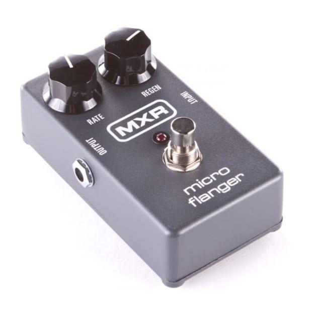 mxr m152 micro flanger guitar effects pedal reverb. Black Bedroom Furniture Sets. Home Design Ideas