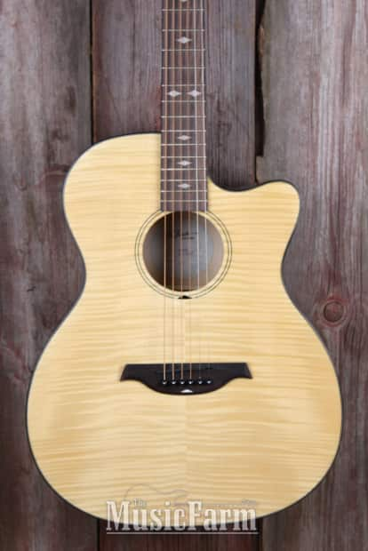 bc rich bcr3n acoustic electric guitar with active fishman reverb. Black Bedroom Furniture Sets. Home Design Ideas