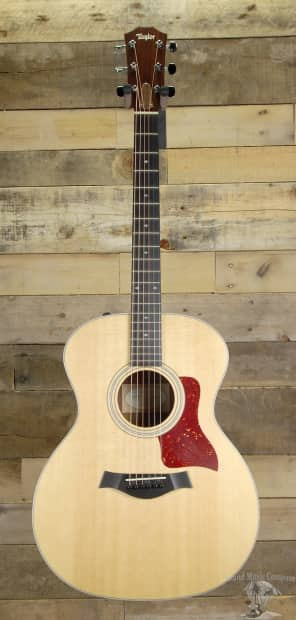 taylor 214e deluxe acoustic electric guitar w case reverb. Black Bedroom Furniture Sets. Home Design Ideas