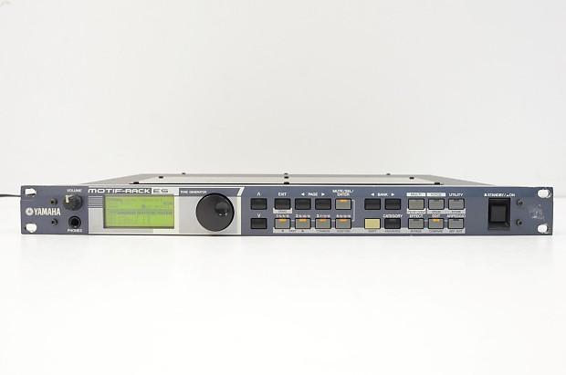 Yamaha Motif Rack Synthesizer Sound Module