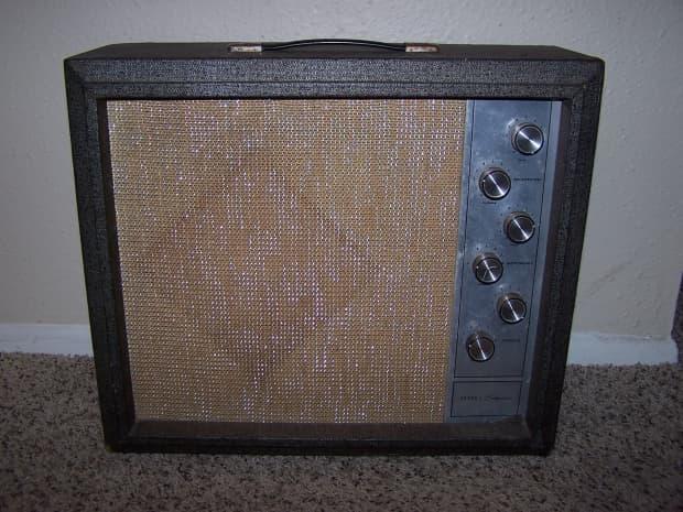Silvertone Amp ~ Model 1482 Vintage 1963 | Reverb