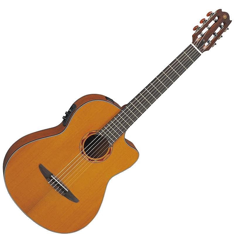 yamaha ncx700c nylon string acoustic electric guitar natural reverb. Black Bedroom Furniture Sets. Home Design Ideas