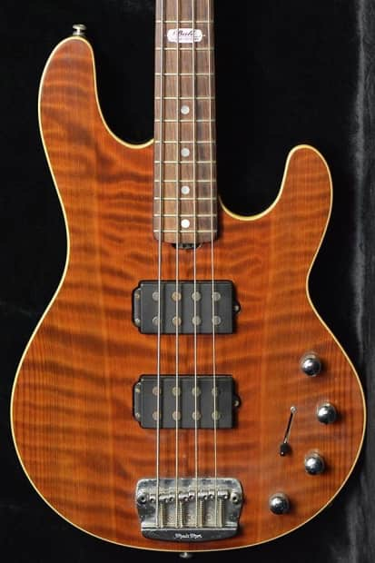 Redwood Auto Sales >> MusicMan Ball Family Reserve StingRay 4 Red Wood Limited | Reverb