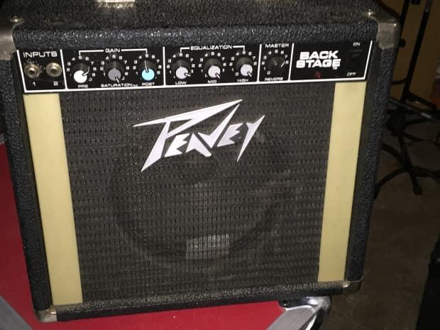 vintage peavey backstage 20 watt 1980 39 s reverb amp amplifier reverb. Black Bedroom Furniture Sets. Home Design Ideas