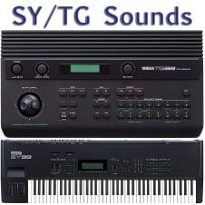 Yamaha SY22 TG33 SY35 SY55 TG55 SY77 TG77 SY85 TG100 SY99 TG500 Sounds image