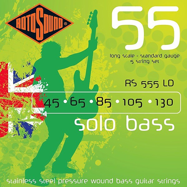 Rotosound Bass String Gauge : rotosound rs555ld stainless steel pressure wound long scale reverb ~ Vivirlamusica.com Haus und Dekorationen