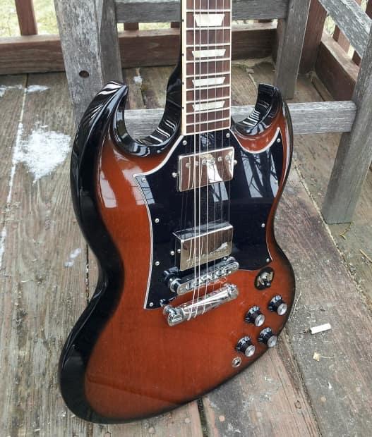 Gibson Sg Standard Limited 2011 Vintage Sunburst