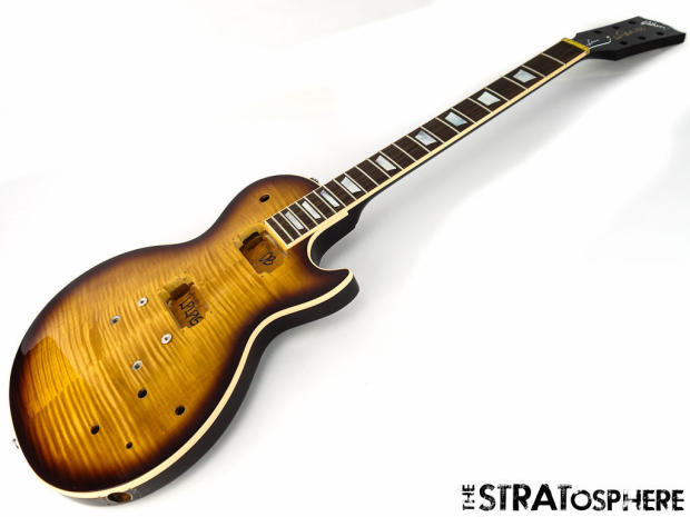 gibson usa les paul less plus body neck guitar parts american desertburst sale reverb. Black Bedroom Furniture Sets. Home Design Ideas