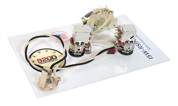 920d custom shop ibanez rs ii wiring harness crl 5 way two reverb 920d custom shop ibanez rs ii wiring harness crl 5 way two bourns 250k push pull