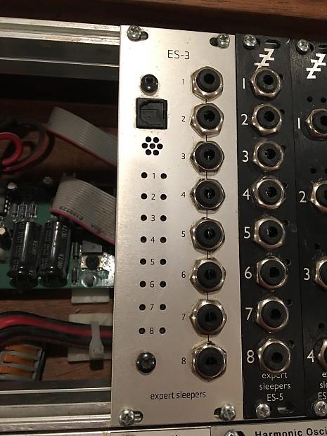 Expert Sleepers Es 3 Mk Ii With Greyscale Panel Adat Midi