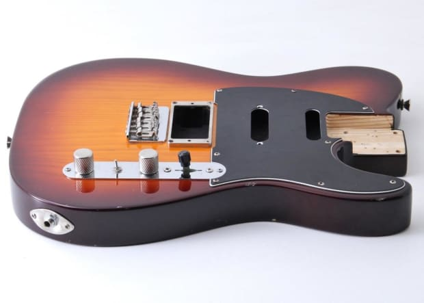 2014 fender modern player plus telecaster guitar body w reverb. Black Bedroom Furniture Sets. Home Design Ideas
