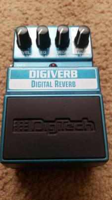 DigiTech DigiVerb Teal image