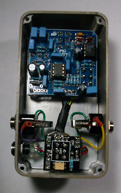 op amp big muff clone pedal with tone bypass switch ic. Black Bedroom Furniture Sets. Home Design Ideas