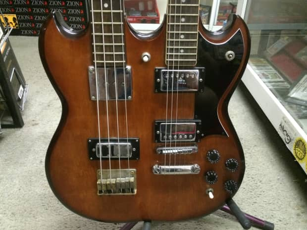 Antares Double Neck 4/6 Electric Guitar Vintage 1970's or ...