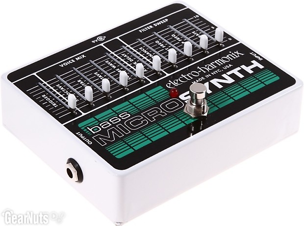 electro harmonix bass micro synth pedal reverb. Black Bedroom Furniture Sets. Home Design Ideas