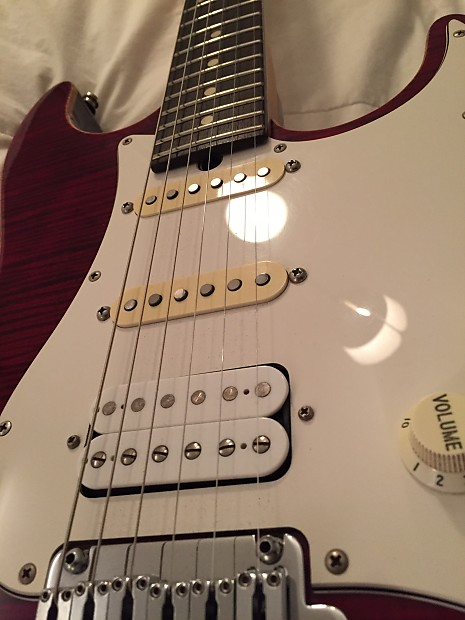 Suhr Pro Series S3 Chili Pepper Red Reverb