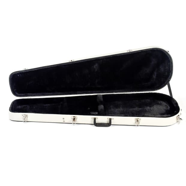 reverend hardshell case bass guitar two tone teardrop reverb. Black Bedroom Furniture Sets. Home Design Ideas