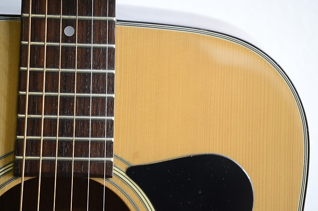 Vintage Made In Japan Madeira Acoustic Guitar By Guild