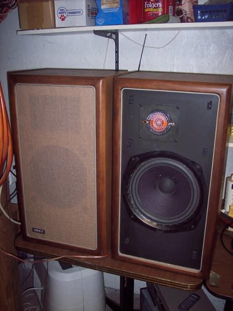 70 39 s advent a 4 speakers danish walnut new surrounds reverb. Black Bedroom Furniture Sets. Home Design Ideas