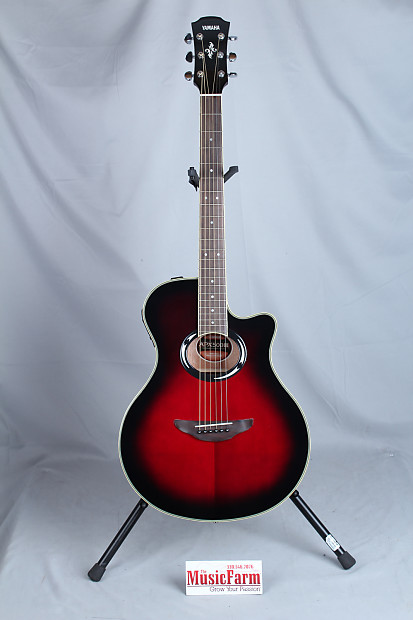 yamaha apx 500 thinline acoustic electric guitar dusk. Black Bedroom Furniture Sets. Home Design Ideas