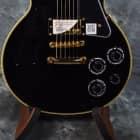 Epiphone Les Paul Custom Pro Electric Guitar in Ebony/Black image