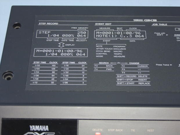 Yamaha qx5 8 track midi squencer reverb for Yamaha mox8 specs
