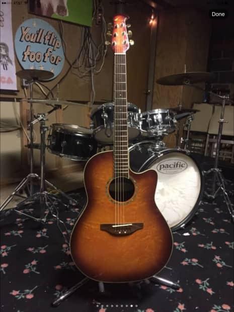 Ovation Celebrity GC28 Acoustic Electric Guitar w/ Case ...
