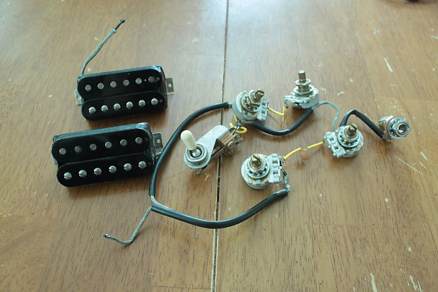Gibson Usa Sg 490t  490r Humbucker Pickups And Wiring