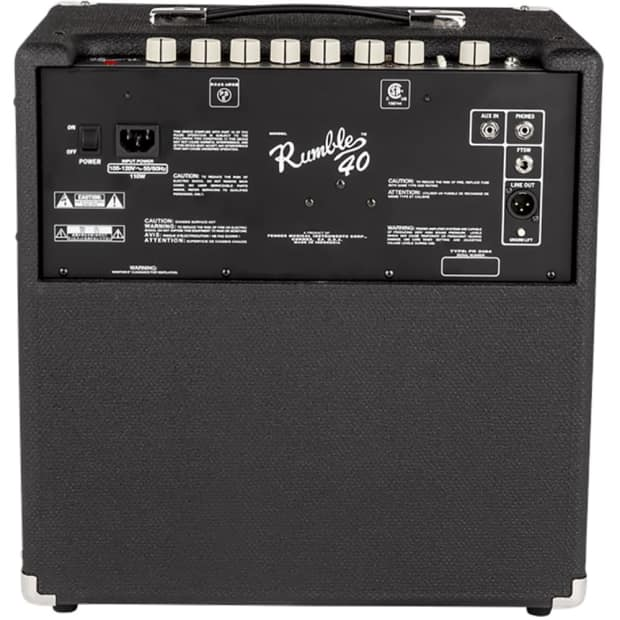 fender rumble 40 v3 40w 1x10 lightweight bass guitar combo reverb. Black Bedroom Furniture Sets. Home Design Ideas