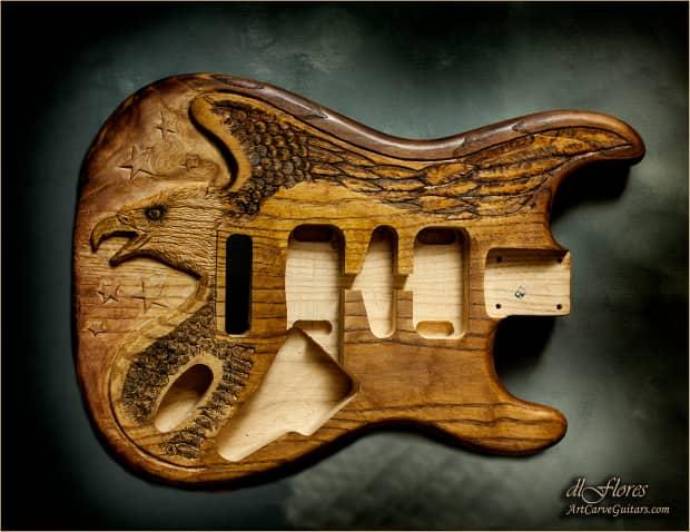 Woods Auto Sales >> ART CARVE GUITARS / Custom Hand-Carved Guitar Body Strat or | Reverb
