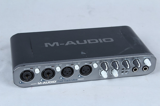 used m audio fast track ultra high speed 8x8 usb 2 0 audio reverb. Black Bedroom Furniture Sets. Home Design Ideas