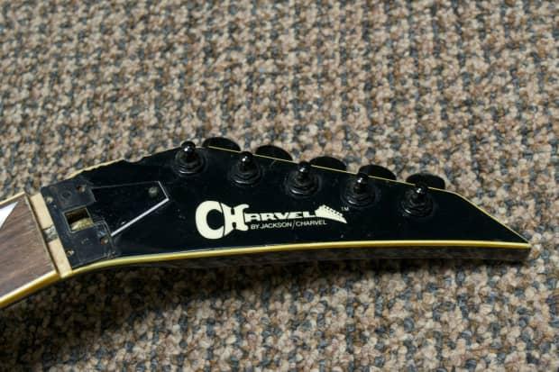 Jackson Model 6 Guitar For Repair 1986 Cobalt Blue Reverb