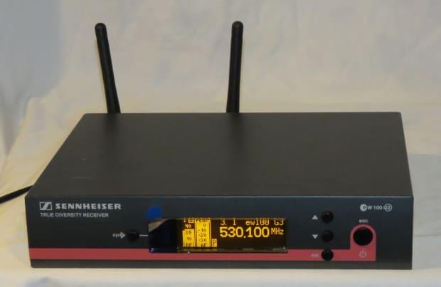 sennheiser ew100 g3 ew 100 wireless receiver a band 516 558 reverb. Black Bedroom Furniture Sets. Home Design Ideas