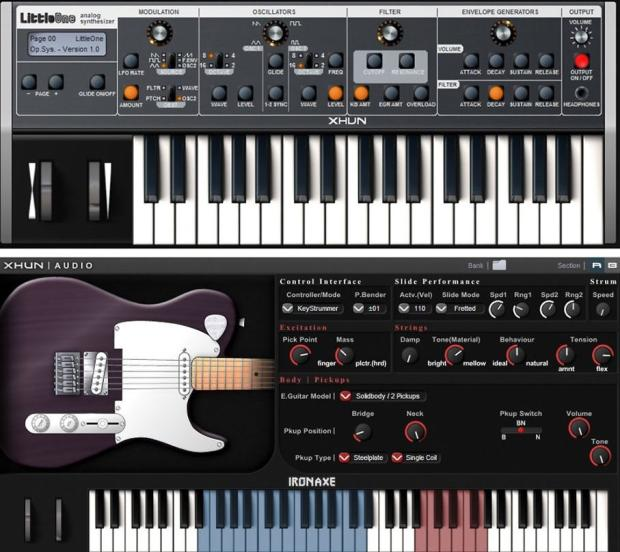 Xhun Audio Instruments Bundle Littleone Analogue