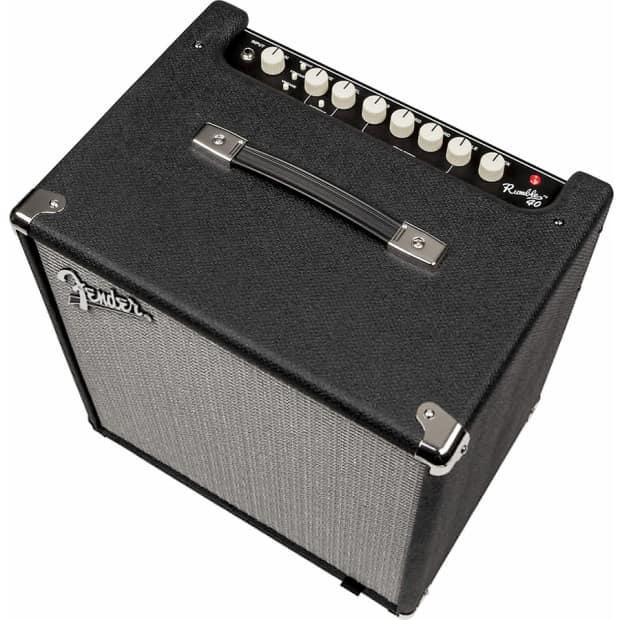 fender rumble 40 v3 1x10 40 watt portable combo bass reverb. Black Bedroom Furniture Sets. Home Design Ideas